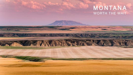This photo was taken on U.S. Highway 87 near Fort Benton. The Montana Office of Tourism and Business Development has used photos of the state's grand landscapes to keep Montana top of mind among travelers during the COVID-19 pandemic.
