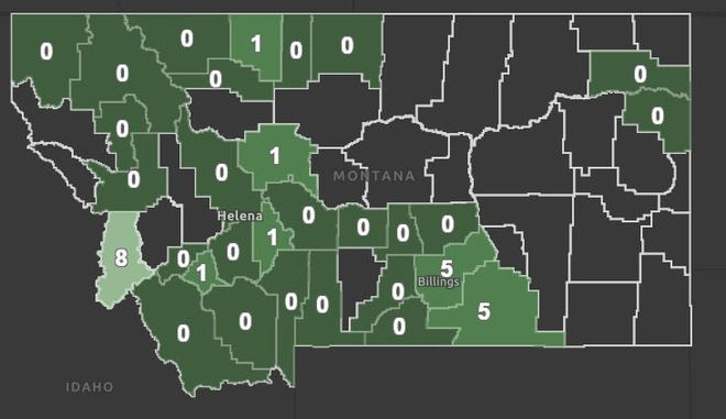 Ravalli County reported seven new COVID-19 cases on Wednesday.