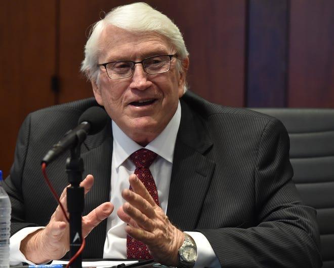 Komisaris Departemen Pemasyarakatan Mississippi Burl Cain