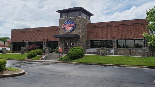 Calhoun's restaurant in Turkey Creek on Wednesday, May 20, 2020.