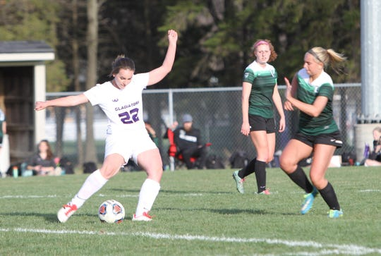 Jayci Clark (22) would have been a three-year starter for Fowlerville.