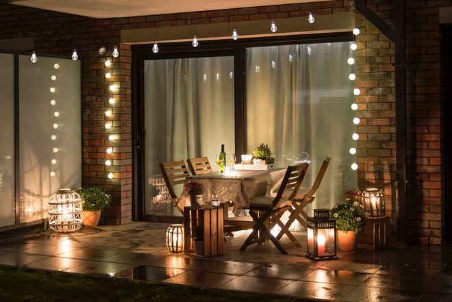 It's possible for a drab concrete patio to look brand new without breaking the bank.