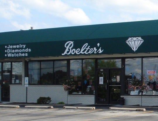 Boelter's Jewelers, 2101 Washington St., Manitowoc.