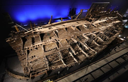 The wreck of the Mary Rose was raised in 1982. The Mary Rose Museum is in Portsmouth, England.