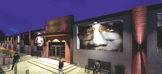 Rendering of Paradise Entertainment Center after its planned renovation.