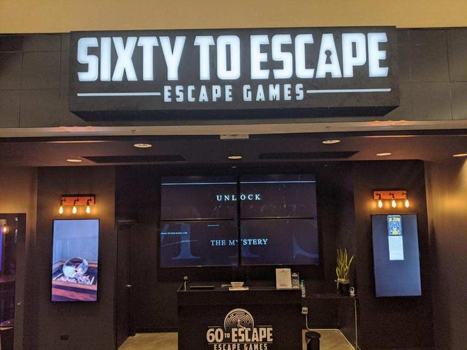 60 to Escape, the Milwaukee area's newest escape room, will reopen to customers Friday, May 22. The business, located in Southridge Mall in Greendale, closed in March due to the coronavirus pandemic.