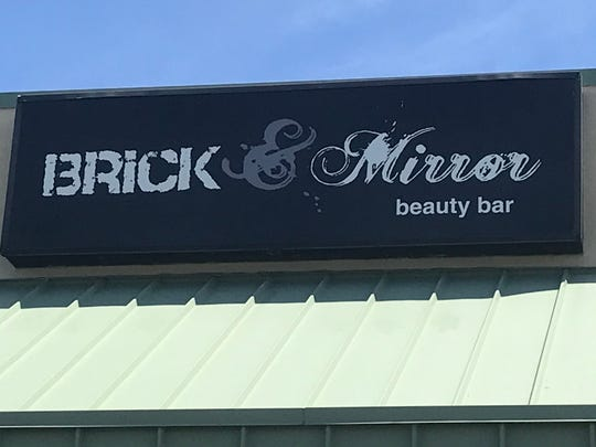 Brick and Mirror Beauty Salon at the Arlington Plaza, Parsippany. The owners have announced they will reopen June 1 even if Gov. Phil Murphy's executive order that closed them in March is still in place.