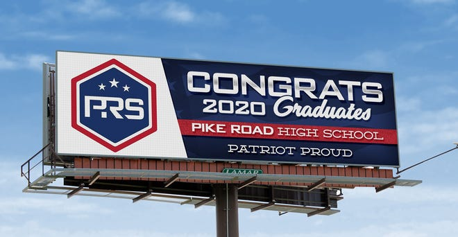 Lamar Advertising and Mashburn Outdoor both donated several digital billboards to honor Pike Road's first graduating class. On June 6, 106 members of the class will receive their diplomas.