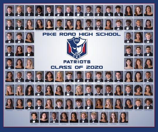 Pike Road High School's class of 2020.