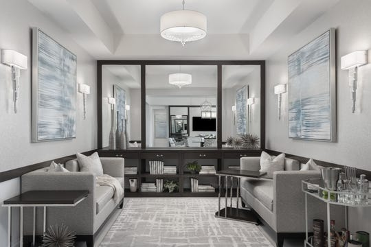 Jinx McDonald Interior Designs completed and sold the Collins model at 1111 Central in one week.