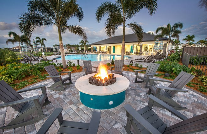 Neighbors become friends at Westbrook's clubhouse and resort-style pool.