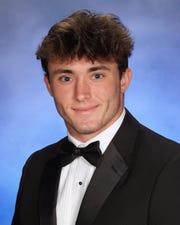 Drew Powell, Barron Collier High School Winged Foot Scholar-Athlete Award finalist.