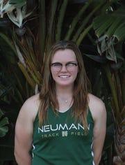 Samantha Hussey, St. John Neumann High School Winged Foot Scholar-Athlete Award finalist.