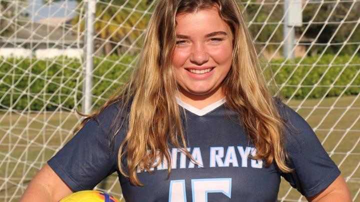 Lauren Faremouth, Marco Island Academy Winged Foot Scholar-Athlete Award finalist.