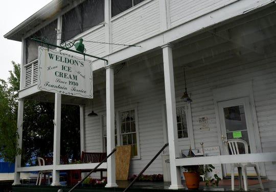 WeldonÕs Ice Cream Factory in Millersport was opened by Rudy Weldon on MotherÕs Day,1930.