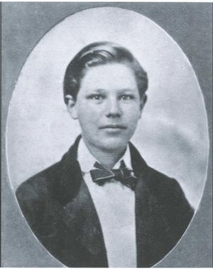 Edelbert Cooling was approximately 15 years old when he and his father enlisted into the Civil War in 1861.