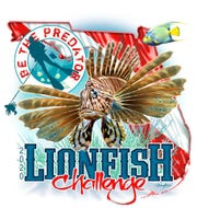 The official poster for Florida's 2020 Lionfish Challenge, which kicks off on Friday.