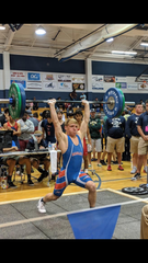 Austin Rode competes at the FHSAA state championships in 2019.