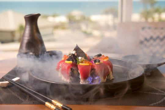 Bonsai, a new high-end Japanese sushi restaurant, opened from the second floor of the Hilton Pensacola Beach hotel on May 6.