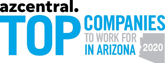 Top Companies to Work for in Arizona 2020 Logo