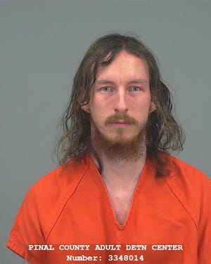Police arrested Carl Hansen on May 14, 2020 after reporting the death of his wife at their Apache Junction home.