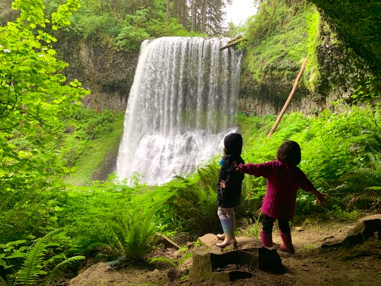 Silver Falls State Park reopened to the public on May 19, 2020 after being closed since March due to COVID-19 limits.