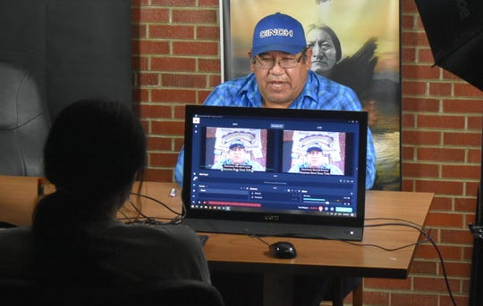 Cheyenne River Sioux Tribe Chairman Harold Frazier has used videos posted on social media to make official statements and to inform the public during the COVID-19 pandemic.