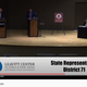 A screenshot of the streamed debate between Rep. Brad Last and challenger Willie Billings on Tuesday evening.