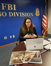 FBI El Paso Division Special Agent Valerie Venegas, who is a field coordinator for the Division's Behavioral Analysis Unit, discusses the behavioral signs shown by active shooters leading up to a mass shooting.