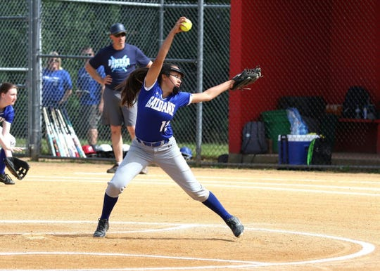 The lohud softball spotlight is on Haldane's all-state pitcher, Shianne Twoguns.
