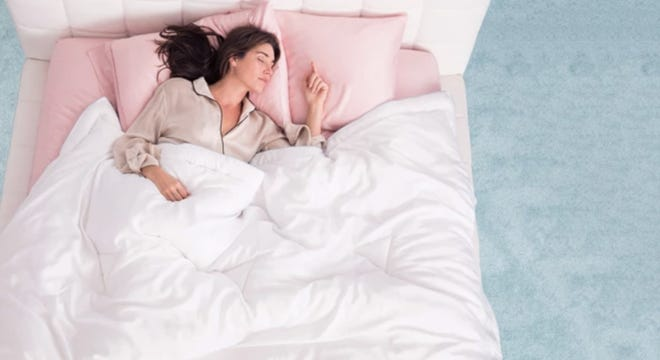 Buffy comforters have an airy, fluffy feeling that's akin to cotton candy.