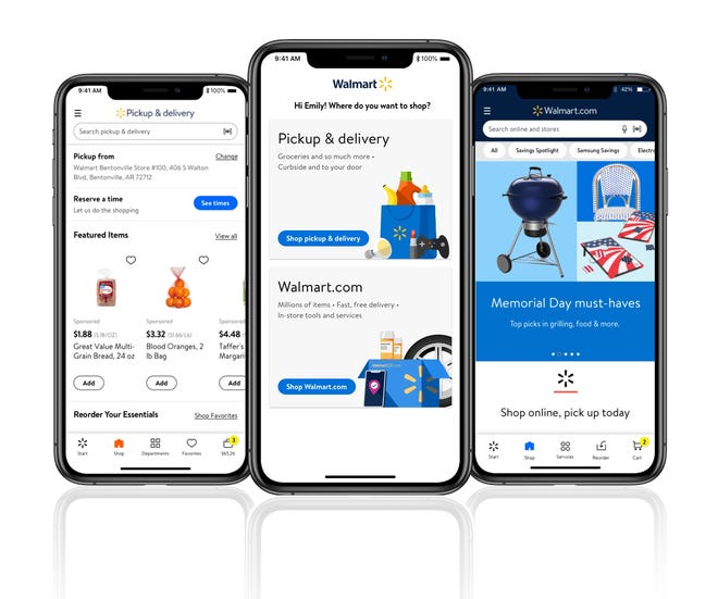 Walmart recently combined its grocery app with its main app.