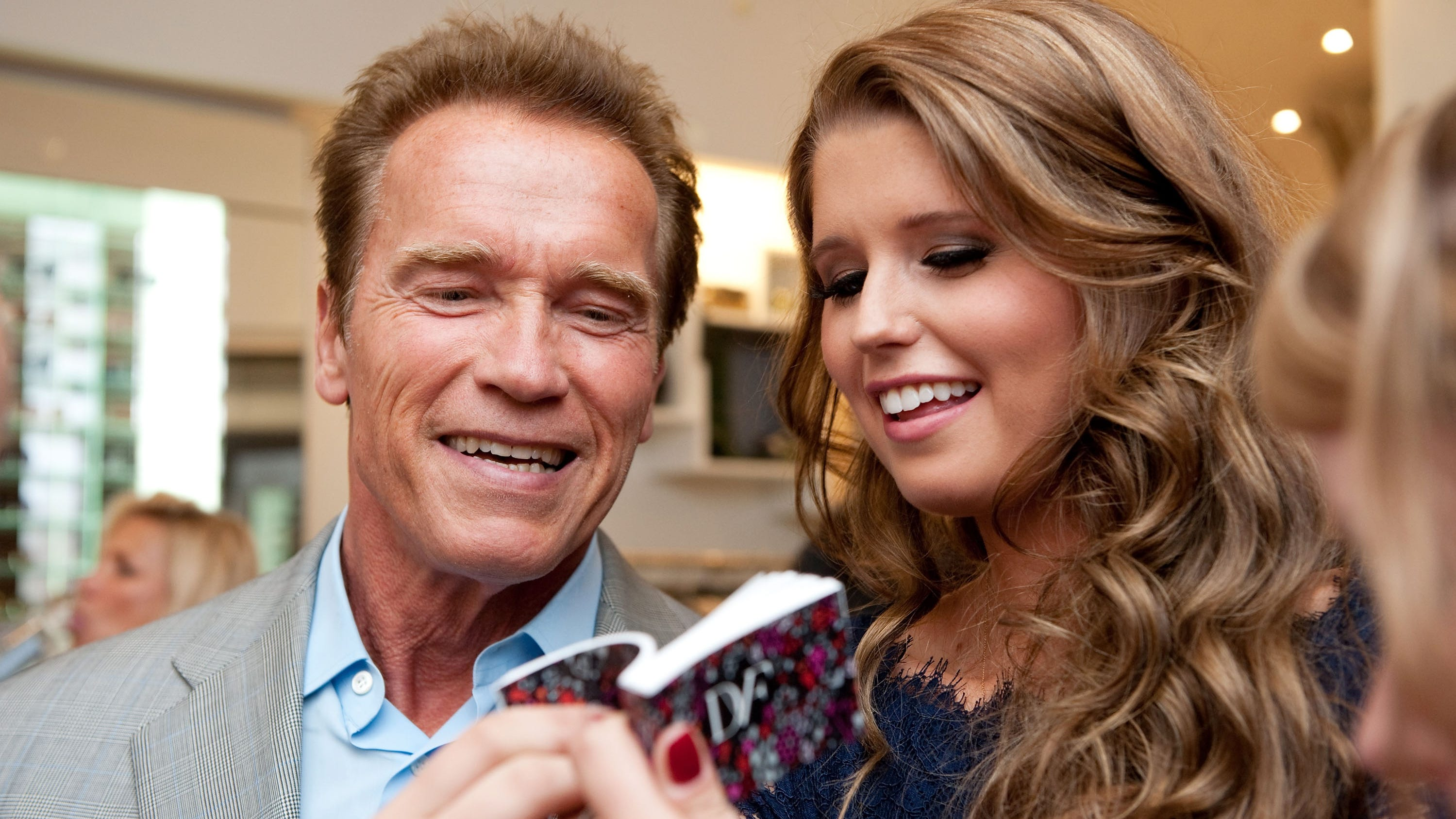 Arnold Schwarzenegger Boasts About Coming Grandchild S Awesome Genes
