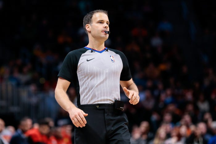 How coronavirus has made a personal and immediate impact on NBA referee and his doctor wife