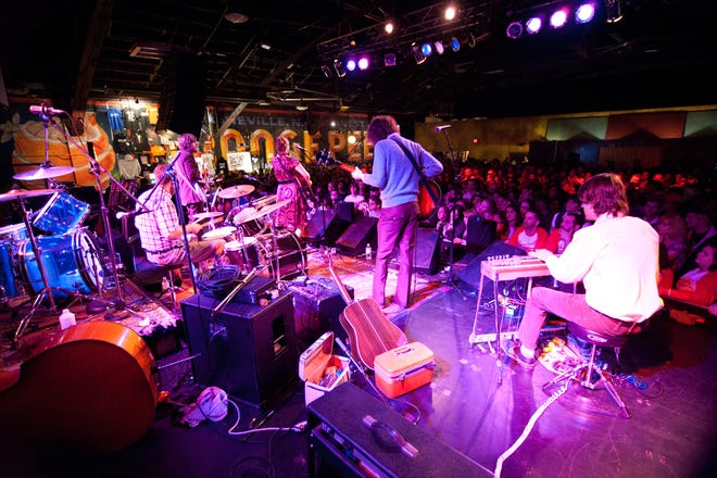 The Orange Peel, a popular downtown Asheville entertainment venue, has had to cancel all shows through the end of June, and might have to extend the cancellations further, depending on future social distancing rules.