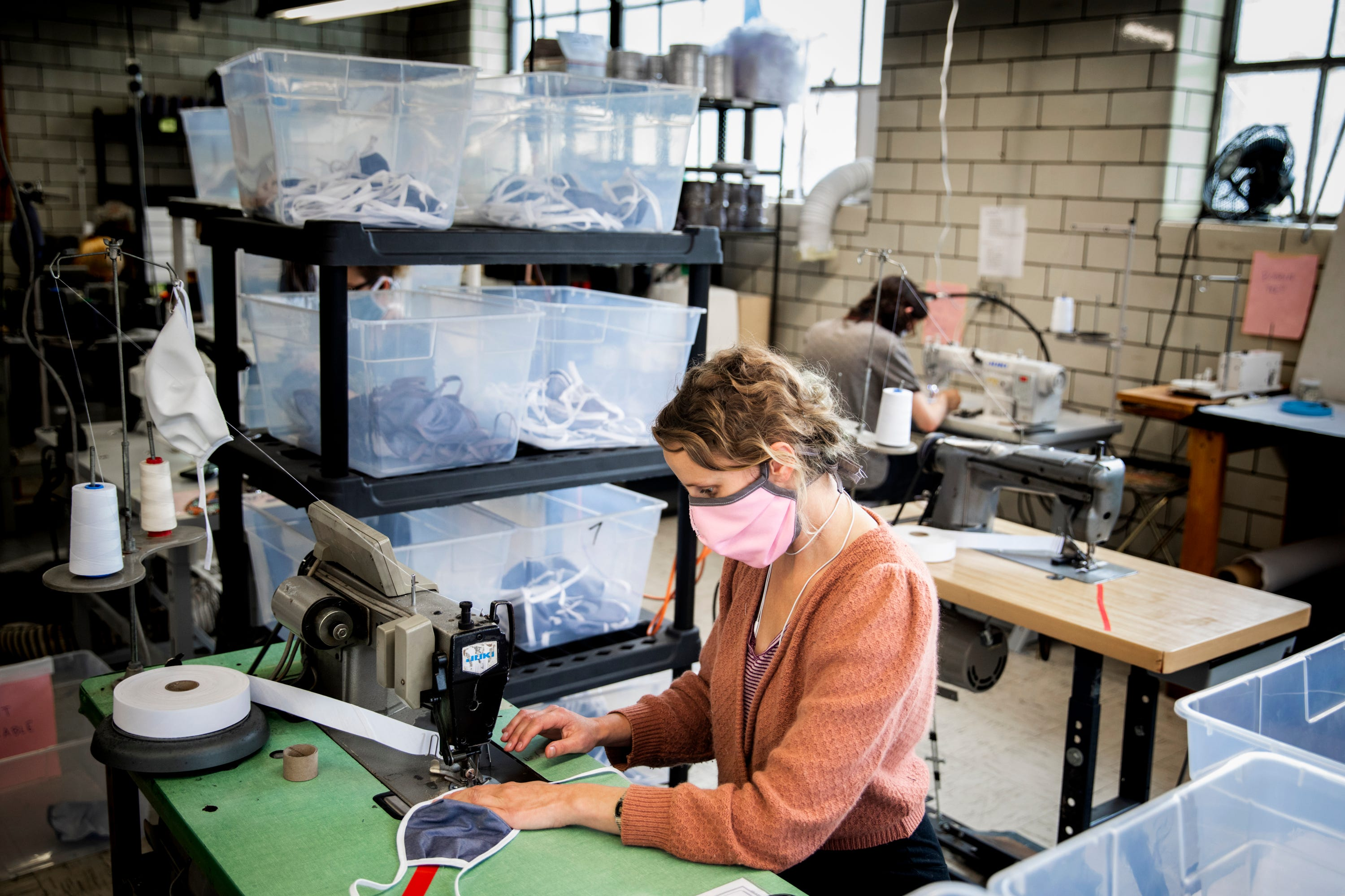 Sew Valley shifts production in pandemic, makes thousands of masks