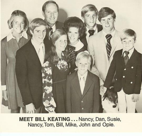 The Keating family. Photo provided.