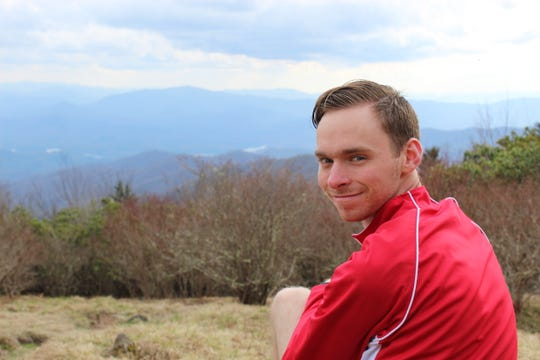 Jordan Conner of West Lafayette will start hiking the Appalachian Trail on June 1 to raise funds for the Alzheimer's Association in honor of his grandmother.