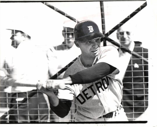 Dick Tracewski during his career with the Detroit Tigers.