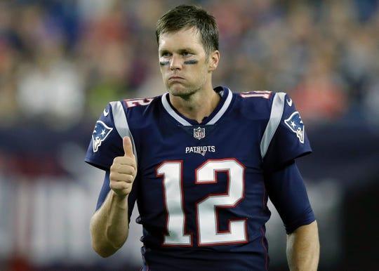 Tom Brady won six Super Bowls with the New England Patriots.