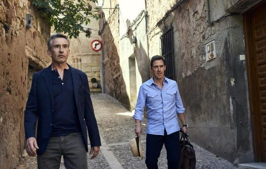 """Steve Coogan and Rob Brydon in """"The Trip to Greece."""""""