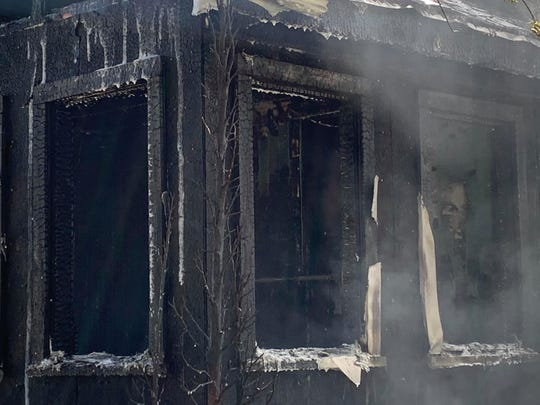 "A fire ""extensively damaged"" a Central Avenue home Thursday, May 21, 2020."
