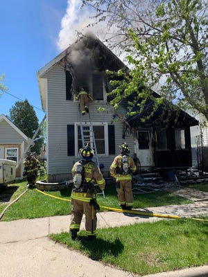 Fond du Lac Fire/Rescue responded to a house fire on Central Avenue Thursday, May 21, 2020. The cause of the fire is under investigation.
