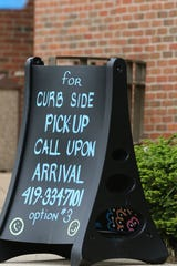 Birchard public library in Fremont is offering curb side pick-up.
