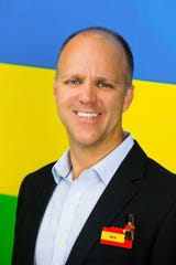 Rex Jackson is the general manager of Legoland Florida Resort.