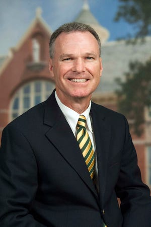Tim Bald is in his 16th year as the athletic director at St. Norbert College.