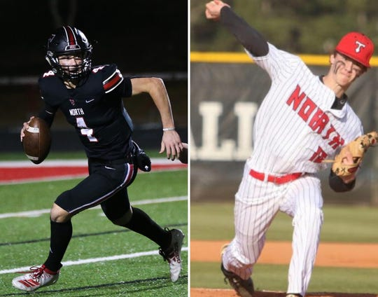 Bubba Chandler is a standout in both football and baseball at North Oconee High.