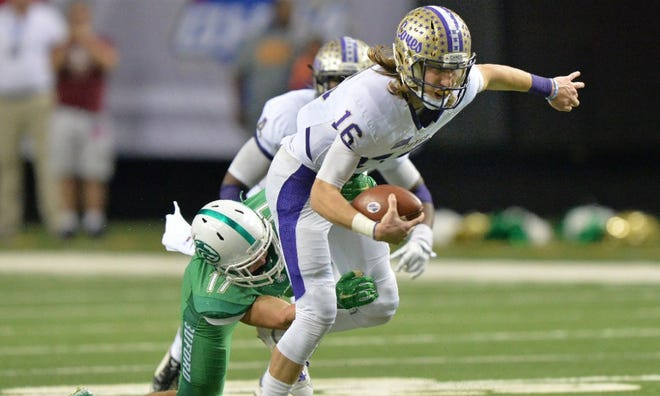 Trevor Lawrence of Cartersville, Georgia, was USA TODAY's Offensive Player of the Year in 2017