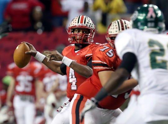 Quarterback Deshaun Watson (4) starred at Gainesville (Ga.) High before continuing his career at Clemson. JASON GETZ/The Associated Press