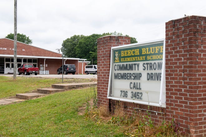 Part of the Beech Bluff Elementary School was turned into a recreation center after it closed in 2016.